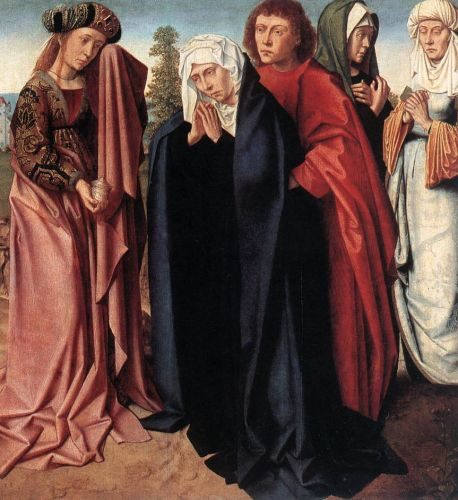 The Holy Women and St John at Golgotha by Gerard David