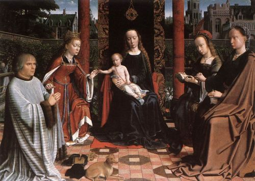 The Mystic Marriage of St Catherine by Gerard David