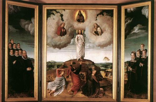 The Transfiguration of Christ by Gerard David
