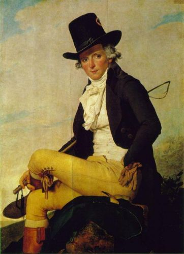 Monsieur Seriziat by Jacques-Louis David
