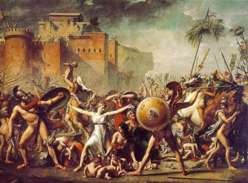 The Sabine Women by Jacques-Louis David
