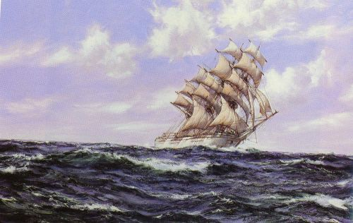 The Abner Coburn by Montague Dawson