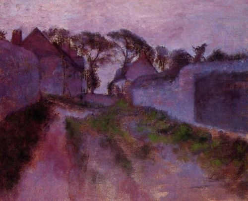 At Saint-Valery-sur-Somme, 1896-1898 by Edgar Degas
