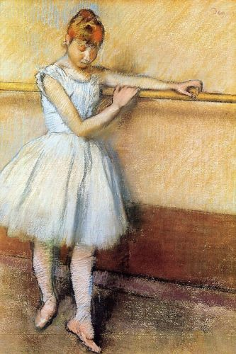 Dancer at the Barre, 1880 by Edgar Degas