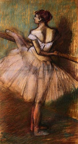 Dancer at the Barre, 1884-1888 by Edgar Degas