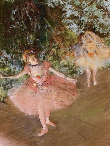 Dancer on Stage, 1878-1880 by Edgar Degas