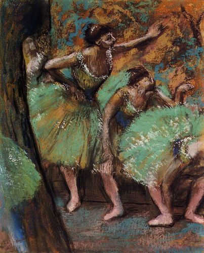 Dancers, 1898 by Edgar Degas