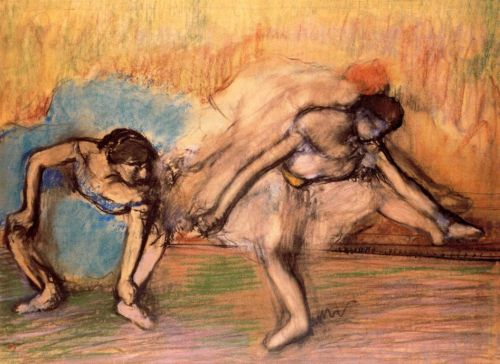 Dancers Resting by Edgar Degas