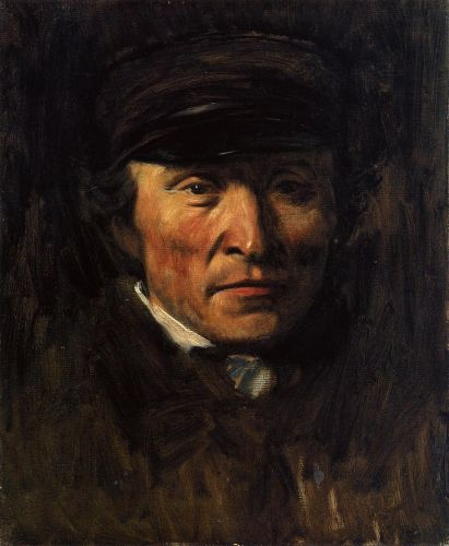 Jerome Ottoz, 1875 by Edgar Degas