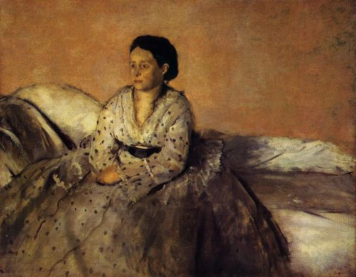 Madame Rene De Gas, 1872-1873 by Edgar Degas