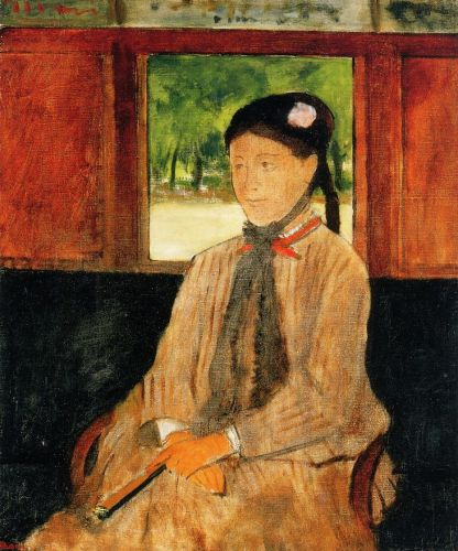 Portrait of a Woman by Edgar Degas