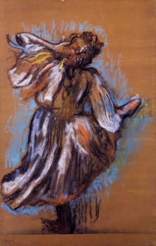 Russian Dancer by Edgar Degas
