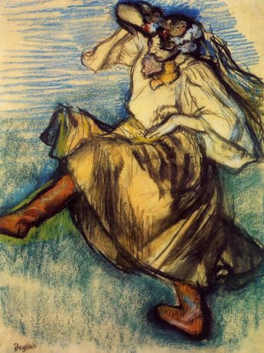 Russian Dancer, 1899 by Edgar Degas