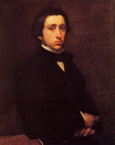 Self Portrait, 1855 by Edgar Degas