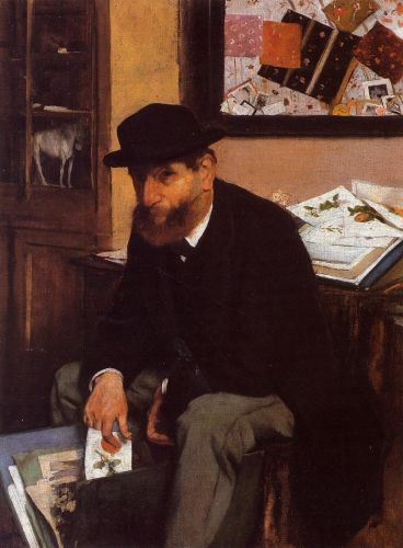 The Collector of Prints by Edgar Degas