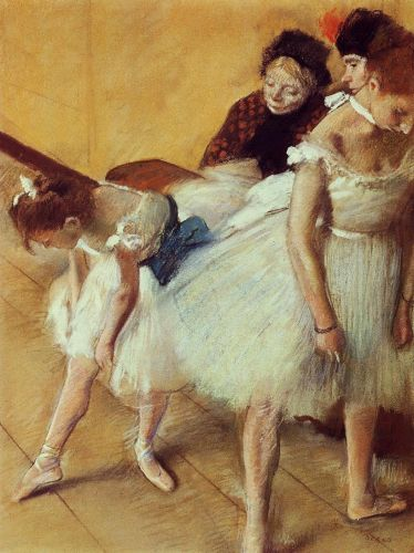 The Dancing Examination by Edgar Degas