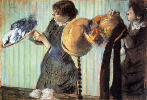 The Little Milliners, 1882 by Edgar Degas