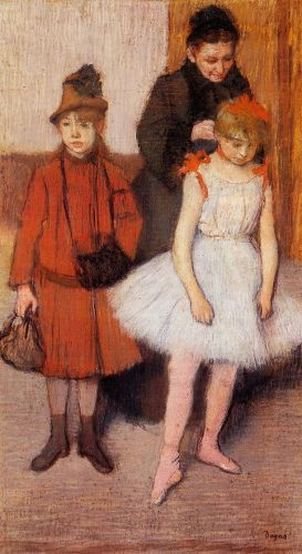 The Mante Family, 1889 by Edgar Degas