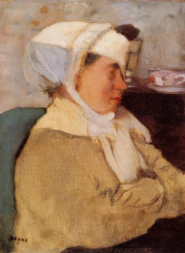 Woman with a Bandage, 1871-1873 by Edgar Degas