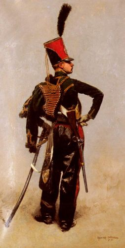 A Napoleonic Officer by Edouard Detaille