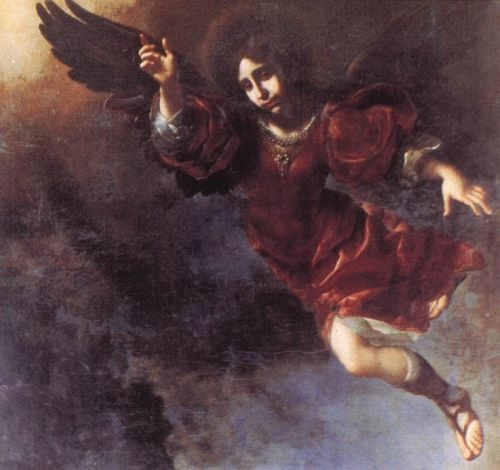 The Guardian Angel by Carlo Dolci