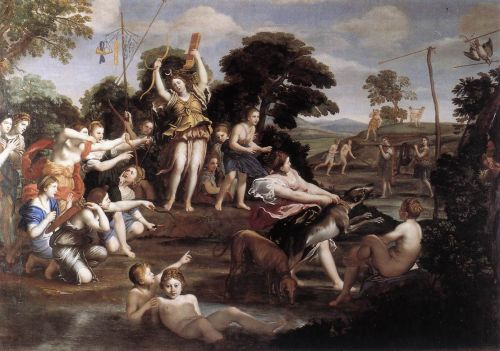 Diana and her Nymphs by Domenico Zampieri Domenichino