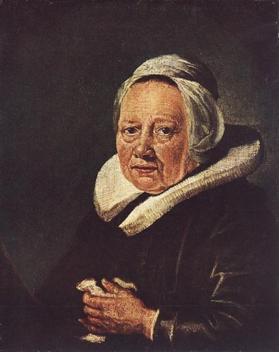 Portrait of an Old Woman by Gerrit Dou
