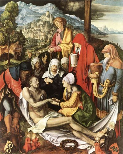 Lamentation for Christ by Albrecht Dürer