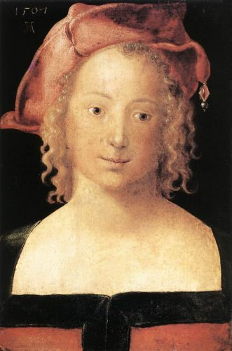 Portrait of a Young Girl by Albrecht Dürer
