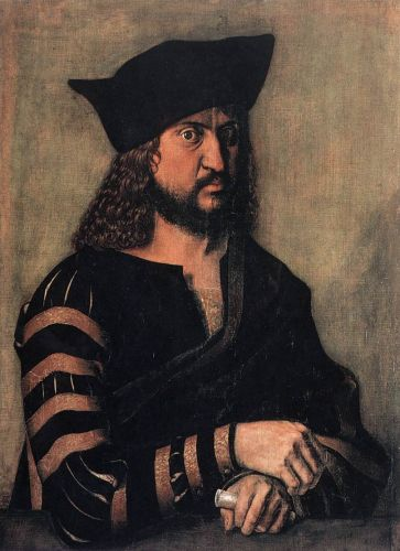 Portrait of Elector Frederick the Wise of Saxony by Albrecht Dürer