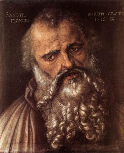 The Apostle Philip by Albrecht Dürer
