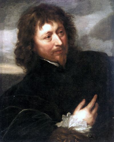 Portrait of Endymion Porter by Anthony van Dyck