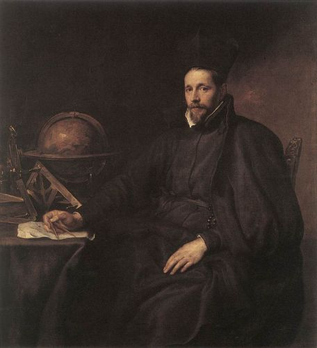 Portrait of Father Jean-Charles della Faille by Anthony van Dyck