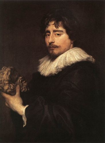 Portrait of the Sculptor Duquesnoy by Anthony van Dyck