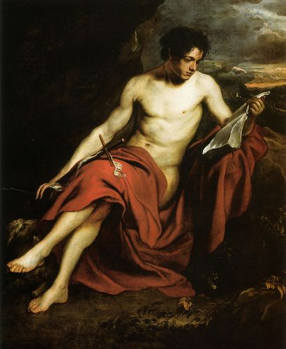 Saint John the Baptist in the Wilderness by Anthony van Dyck