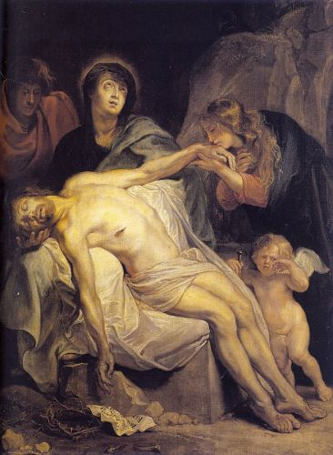 The Lamentation by Anthony van Dyck