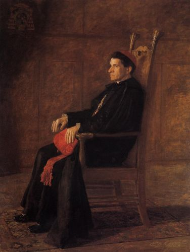 Portrait of Cardinal Sebastiano Martinelli by Thomas Eakins