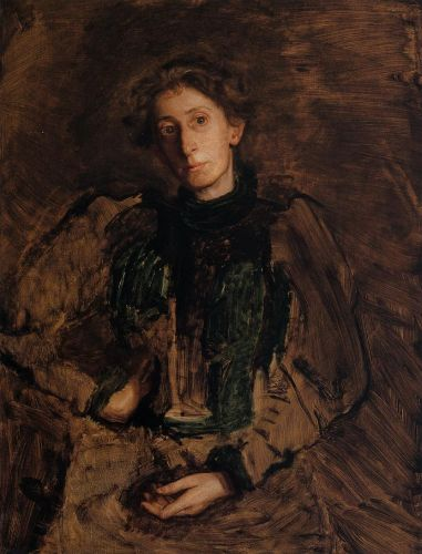 Portrait of Jennie Dean Kershaw by Thomas Eakins