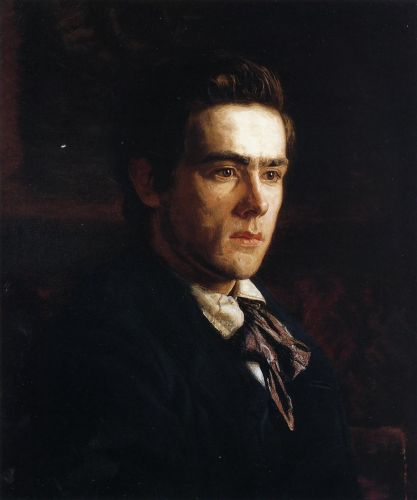 Portrait of Samuel Murray by Thomas Eakins