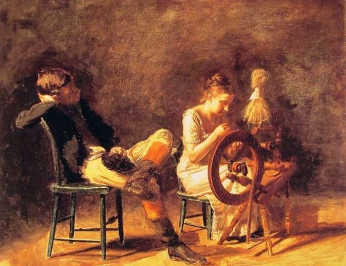 The Courtship by Thomas Eakins
