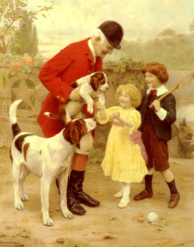 The Huntsman's Pet by Arthur John Elsley