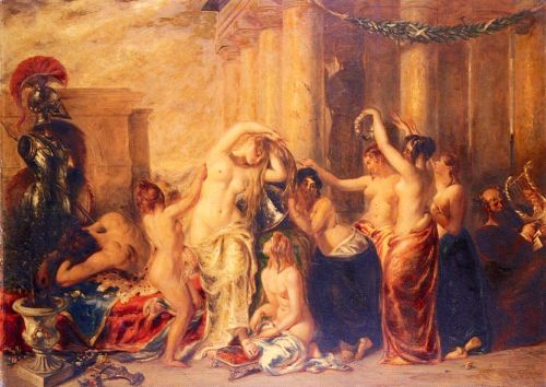 The Toilet Of Venus by William Etty