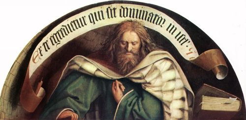 The Ghent Altarpiece - Prophet Micheas by Jan van Eyck