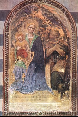Madonna with the Child by Gentile da Fabriano
