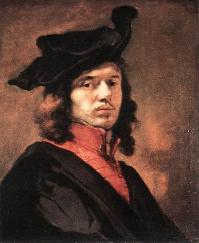 Self-Portrait by Carel Fabritius
