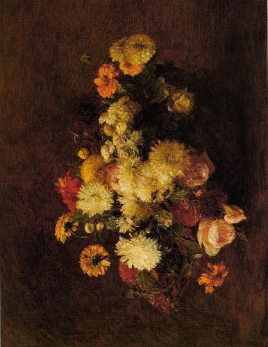 Bouquet of Flowers by Henri Fantin-Latour
