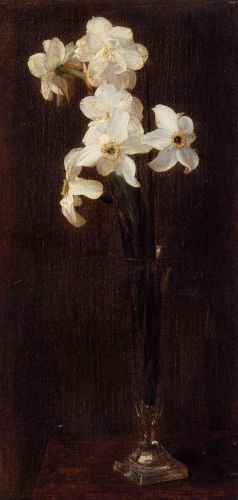 Flowers by Henri Fantin-Latour
