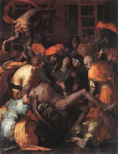 Deposition from the Cross by Rosso Fiorentino