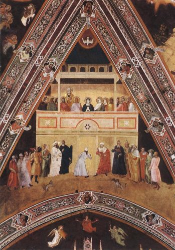Descent of the Holy Spirit by Andrea da Firenze