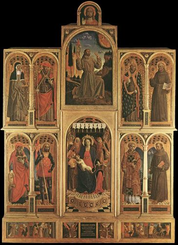Altarpiece by Vincenzo Foppa